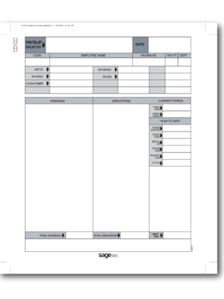 Stationery & Payslips – Official Sage SA Shop